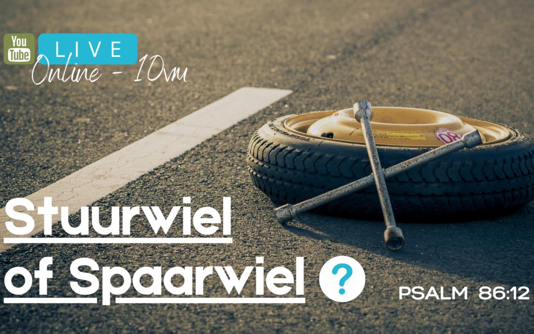 Stuurwiel of Spaarwiel