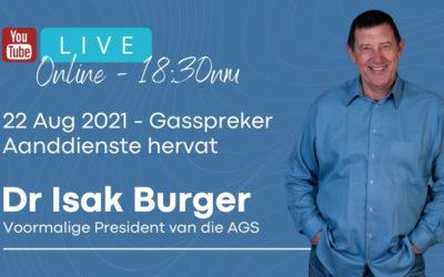 Dr Isak Burger